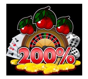 Talletusbonus 200 %